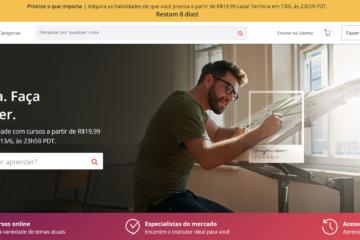 Lista com todos os cursos em português que estão gratuitos na Udemy